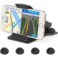 Leelbox Car Mobile Phone Mount w/5 Cable Clips and Strong Sticky Pad Universal