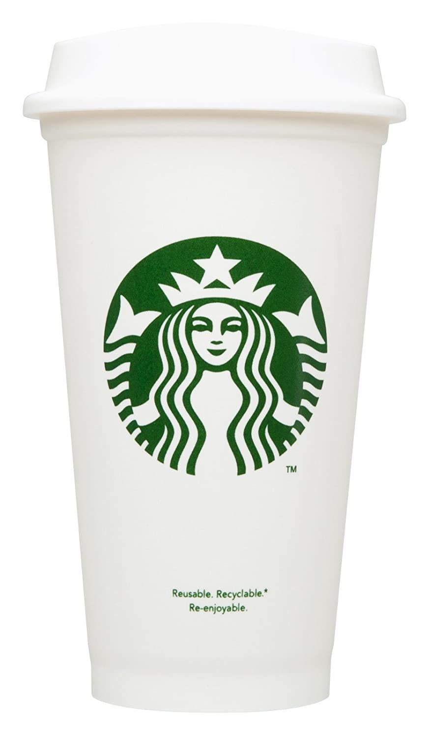 Starbucks Reusable Travel Cup To Go Coffee Cup (Grande 16 Oz) by Starbucks