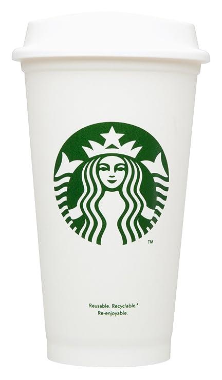 amazon com starbucks reusable travel cup to go coffee cup grande