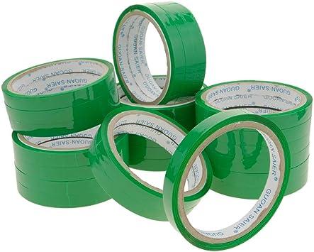 PrimeMatik - Cinta Adhesiva Verde para precintadora Cierra Bolsas de plástico 24-Pack: Amazon.es: Electrónica