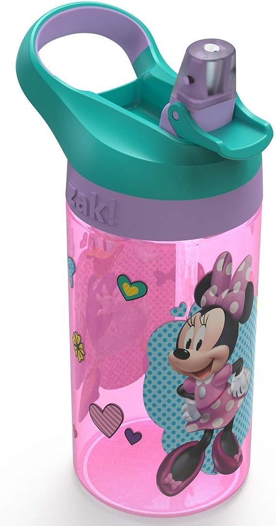 Amazon.com: Minnie Mouse Zak Designs – Botella de agua de ...