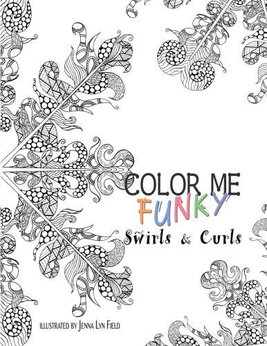 Read Online Color Me Funky - Swirls & Curls PDF