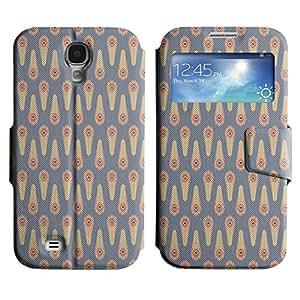 LEOCASE modelo lindo Funda Carcasa Cuero Tapa Case Para Samsung Galaxy S4 I9500 No.1003370