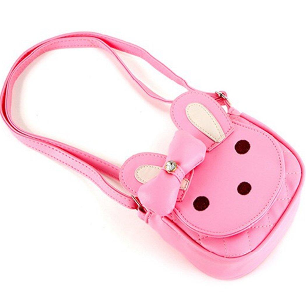 conejo bebé bolso niño niñas niños niños algodón bolsa de hombro infantil/Senderismo/bolsa de viaje rosa