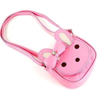 Naerde Rabbit Handbag Toddler Kids Girls Cotton Shoulder Bag Nursery Hiking Travel  Bag Pink  Amazon.co.uk  Clothing dc1d4cb6152b7