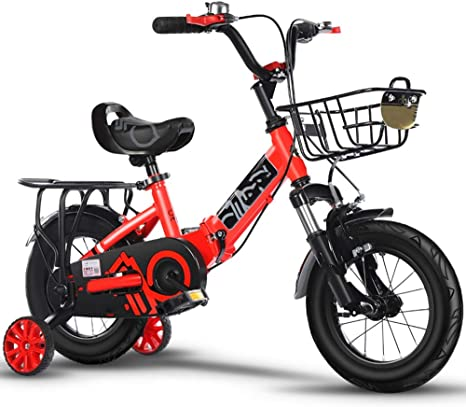 Axdwfd Infantiles Bicicletas Bicicleta para niña pieghevole 12 14 ...