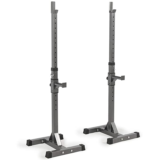 Akonza 2 Piece Adjustable Squat Rack