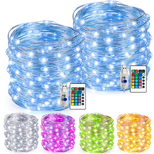 100 Led Christmas Lights Power in US - 3