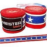 """180"""" Elastic Cotton MMA Handwraps (Pair)"""