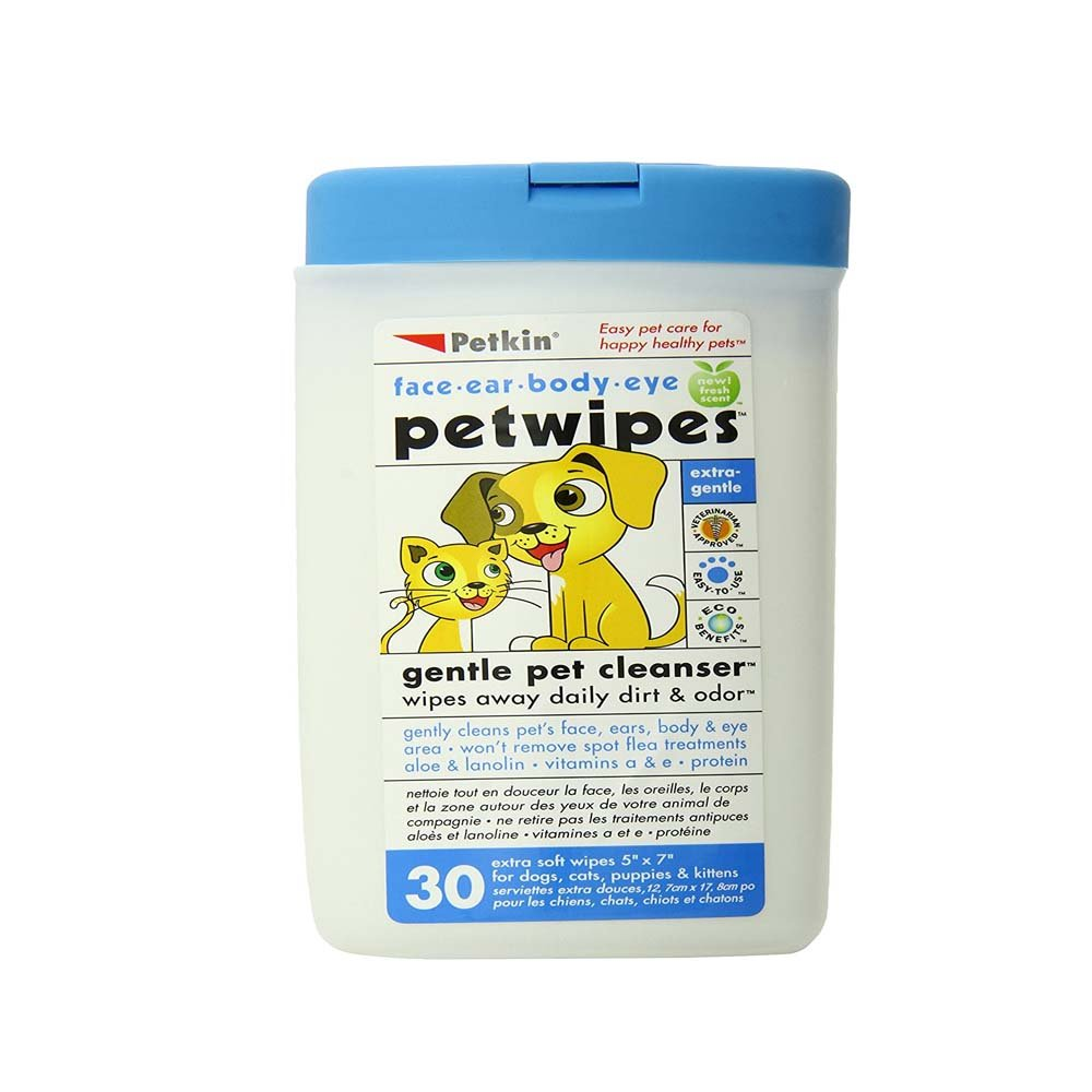 Petkin Petwipes 30 count
