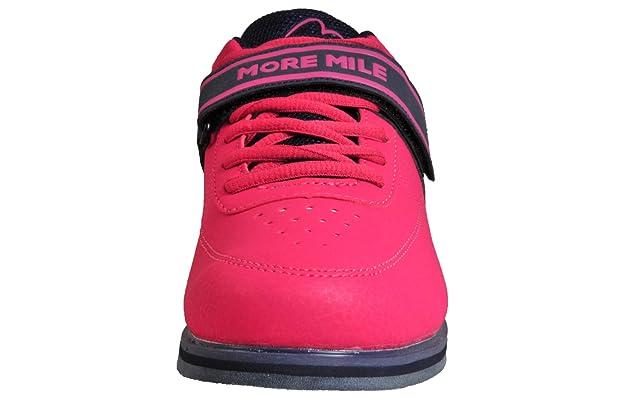 More Mile Super Lift 3 Femme Femmes Crossfit//Haltérophilie Chaussures-Rose