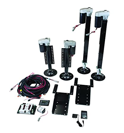 lippert components 358590 ground control 3 0 fifth wheel levelinglippert components 358590 ground control 3 0 fifth wheel leveling kit with wireless remote