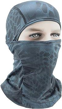tianranrt Lycra esquí completo cara máscara moto bicicleta ...