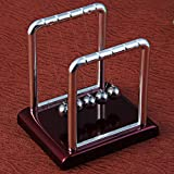 Kurtzy Newton Cradle Pendulum Swing Balance Ball Decoration for Home & Office Classic Desk Toy
