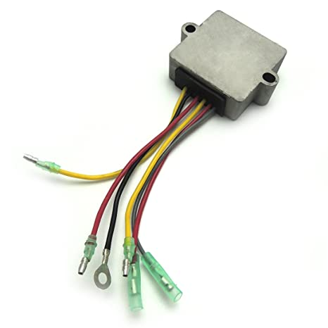 815279T voltage regulator rectifier for Mercury Mariner Outboard 12 Volt 6  Wire 815279-3 75-200 HP