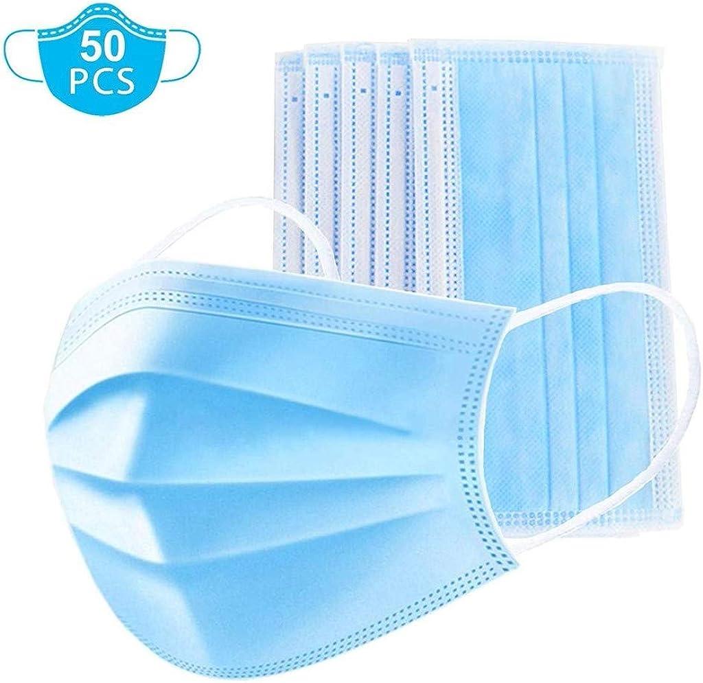 QingYao Lot De 50 Bleu Adultes Bandanas