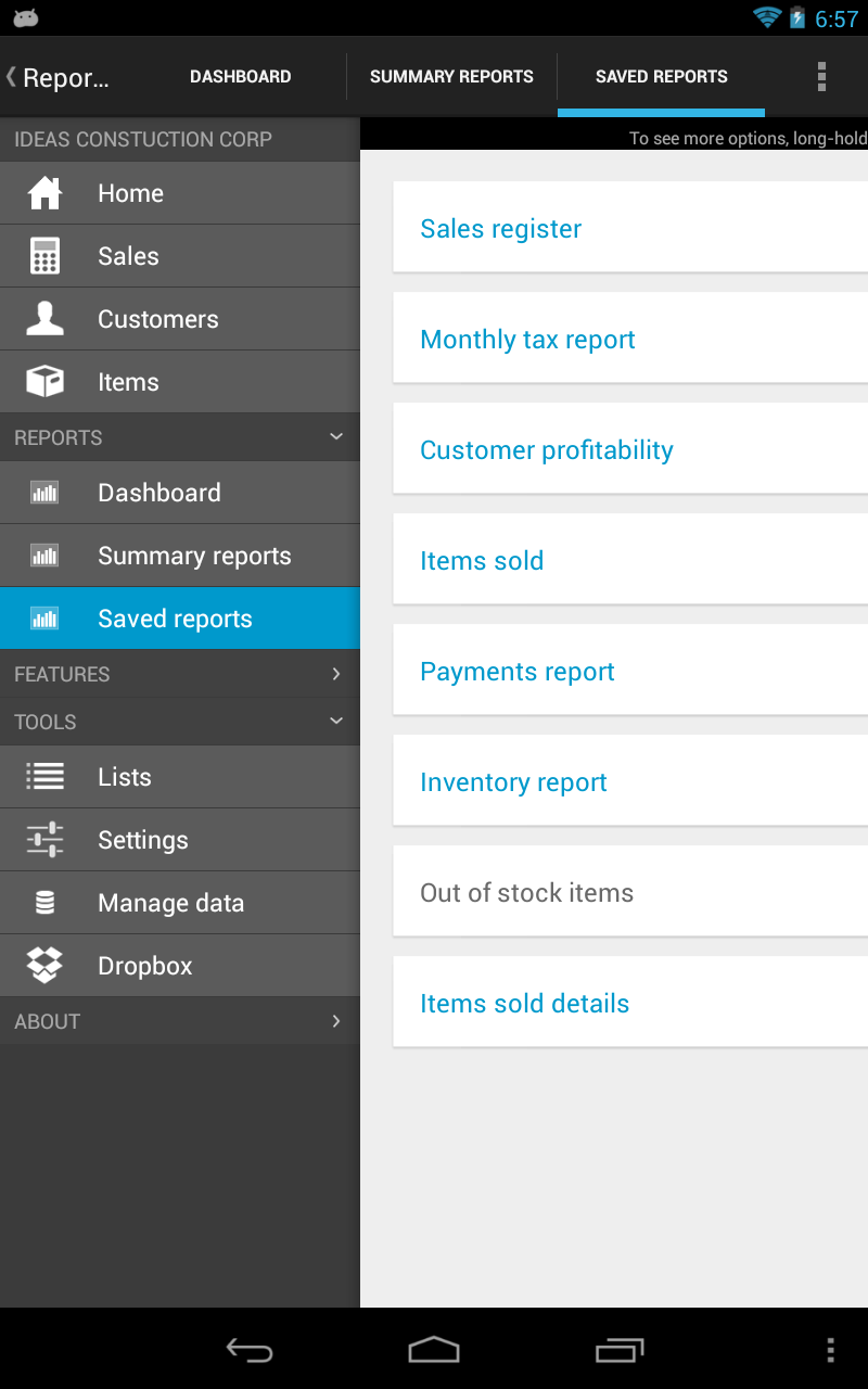 amazon com mobilebiz pro invoice app appstore for android