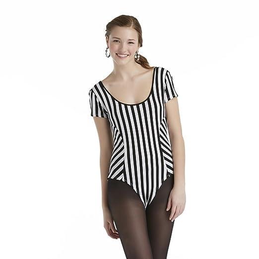 Amazon.com  Bongo Junior s Short Sleeve Bodysuit Striped 176137255