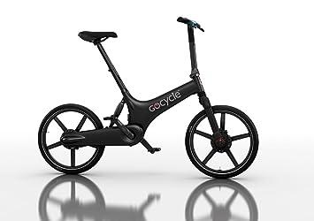 Bicicleta eléctrica plegable de diseño, GoCycle G3 negra con base pack + Vuelo de regalo