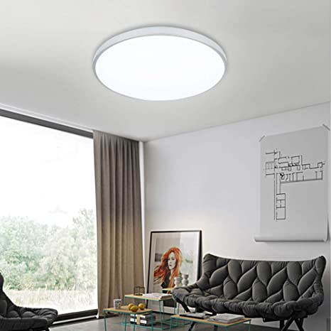 Vingo® 60 W - Lámpara LED de techo fría Salón Lámpara de ...