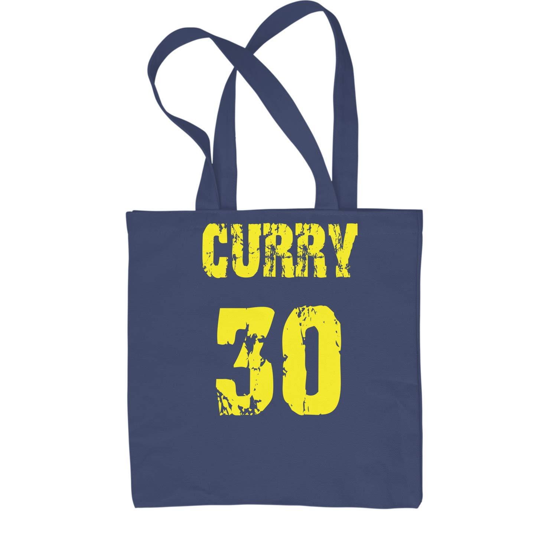 式Teesカレー# 30バスケットボールショッピングトートバッグ B071HP2HFF ネイビーブルー L