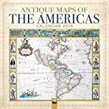 Antique Maps of the Americas Wall Calendar 2019 (Art Calendar)