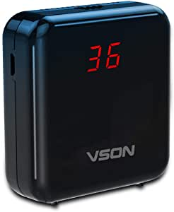 VSON PM2.5 Detector Portable Mini Air Quality Monitor for Outdoor Cars Testing Haze with Smart Laser Sensor Detect the Small Particles in the Ai