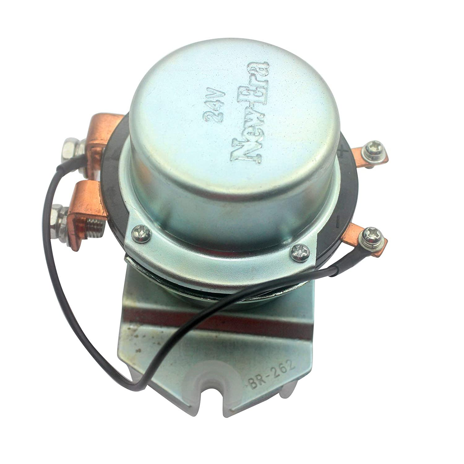 4255762 Relay BR-262 08088-30000 SINOCMP 24V Electrode Relay with Plastic Spacers for Komatsu Hitachi Kobelco for John Deere 800C Excavator Parts 3 Month Waranty