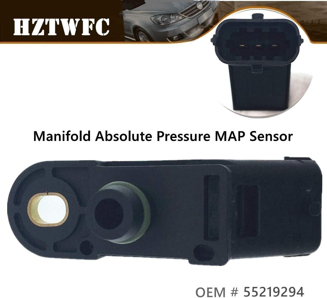 Hztwfc Absolutdruck Map Sensor Für Verteiler Oem 46811235 93177414 55219294 Auto