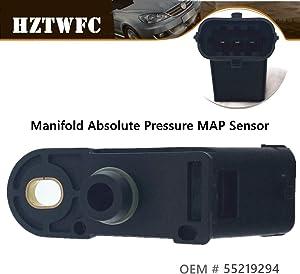 HZTWFC Manifold Absolute Pressure MAP Sensor 46811235 93177414 55219294 Compatible for Alfa Romeo 147 156 166 Giulietta Mito 1.9 2.4 JTD 1.4