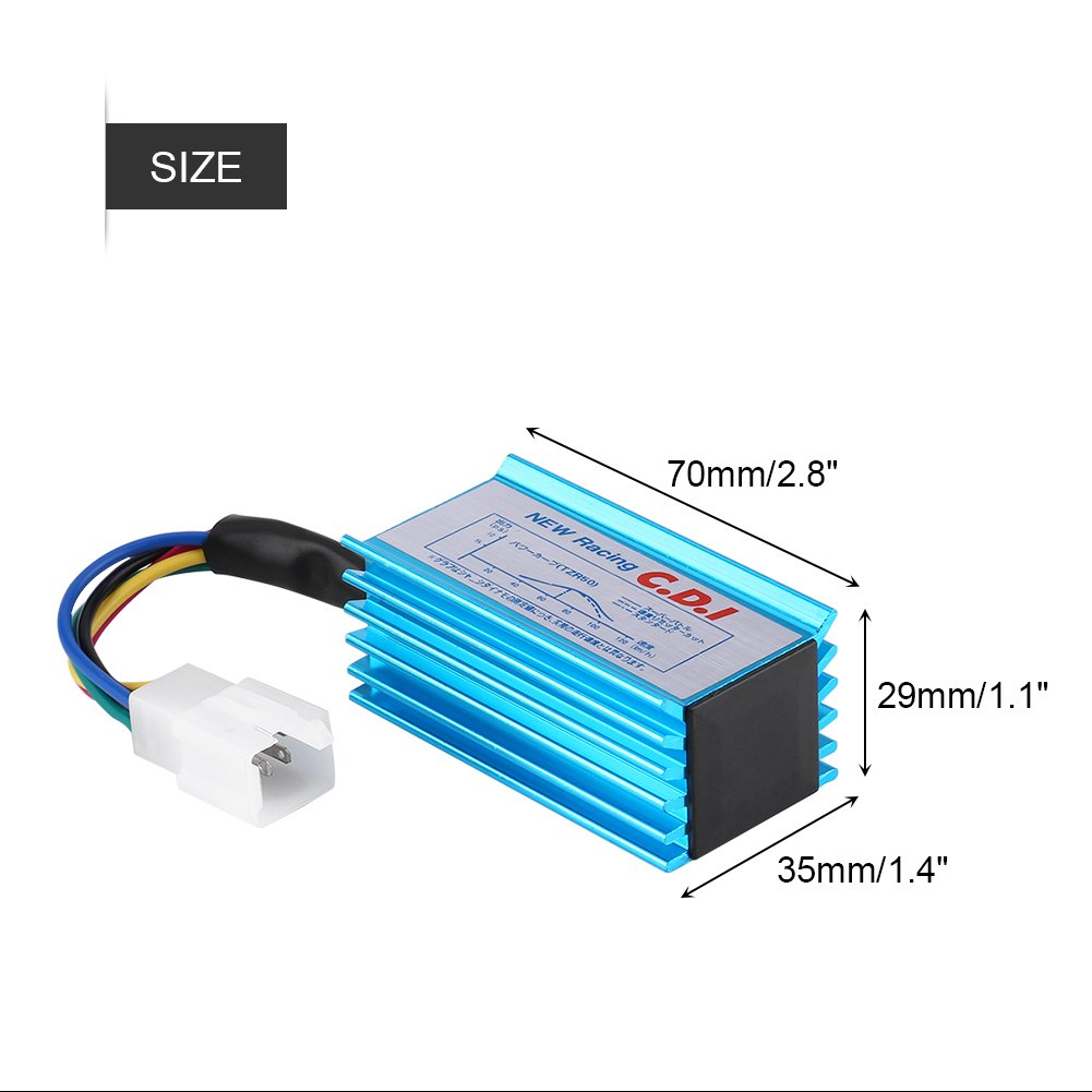 Amazon com: 5 Pin Racing CDI Box Ignition Coil Scooter CDI for