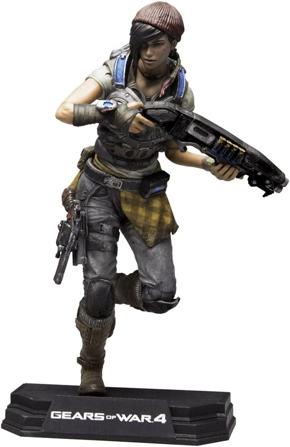 """McFarlane Gears of War 4 JD Fenix 7"""" Action Figure"""