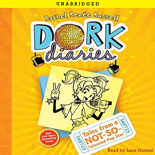 Dork Diaries 3: Tales from a Not-So-Talented Pop Star Audiobook [Free Download by Trial] thumbnail