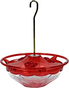 Aspects Mini HummBlossom Hummingbird Feeder, 4 oz, Rose