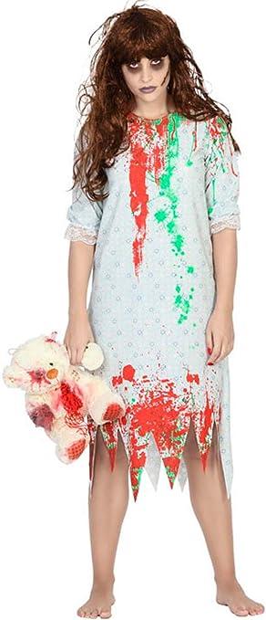 Disfraz de Niña del Exorcista para Mujer: Amazon.es: Juguetes y juegos