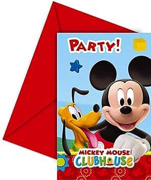 Invitaciones De Mickey Mouse Para Editar Invitaciones De