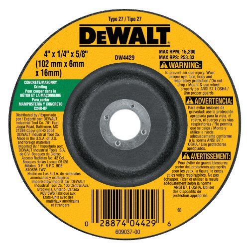 Highest Rated Abrasive Angle & Die Grinder Wheels