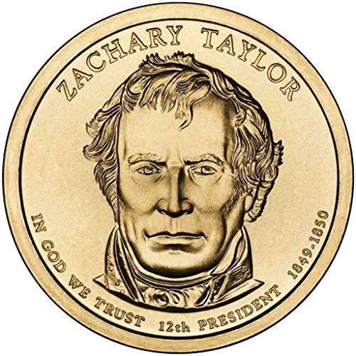 2009 D Taylor Presidential Dollar Choice Uncirculated