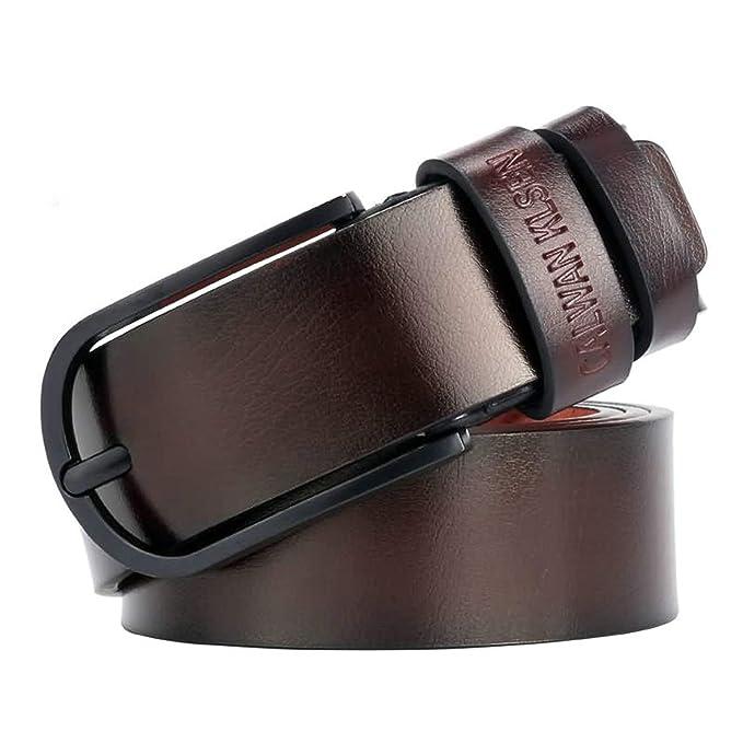 ROMQUEEN Cinturones Casual Hombre Cinturón Hombre Senderismo Traje ...