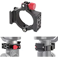 AFVO Ring Clamp with Cold Shoe for Zhiyun Smooth 4 Applied to Microphone LED Light