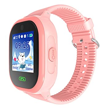 XHL Art DS05 Reloj Inteligente Para Bebés Teléfono Con Tarjeta SIM GPS Para Niños Cámara IP67