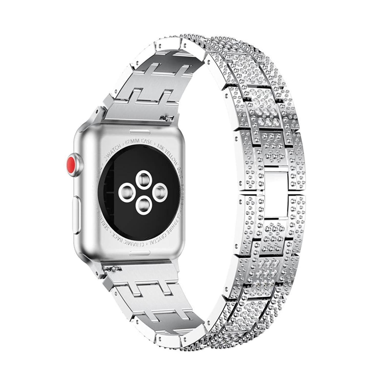 時計バンド、FranterdステンレススチールWatchブレスレットBand Strap for Apple Watchシリーズ3 42 mm本 42mm As Show Rose Gold B076P5HSRM