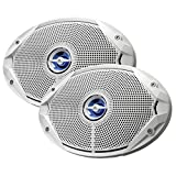 JBL MS9520 600W Max Power 6' x 9' MS Series 2-Way Coaxial Marine Boat Water Proof Speakers