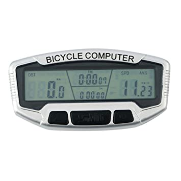 Ciclo computadoras, bovake inalámbrico ordenador de bicicleta para el seguimiento de equitación velocidad y distancia, ...
