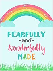 Printed Wall Art Poster - Fearfully and Wonderfully Made 24