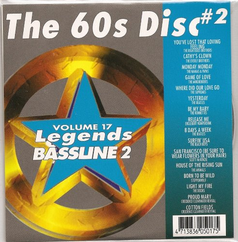 Price comparison product image LEGENDS Bassline vol.17 Karaoke CDG The 60's Disk Vol.2 OLDIES