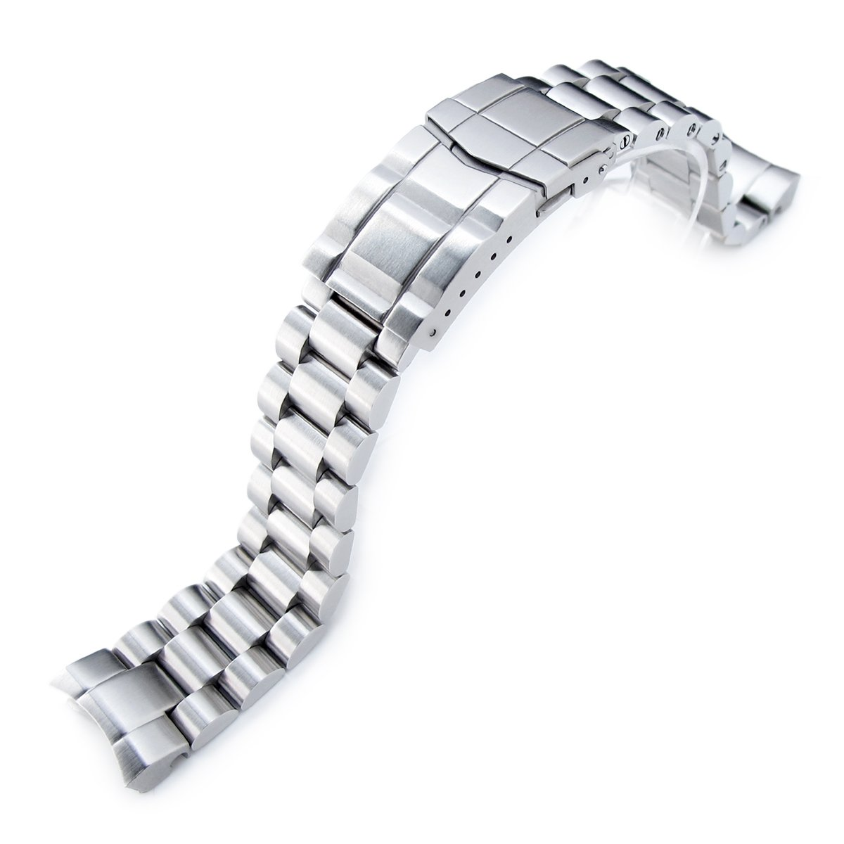 20mm Endmill Watch Band for SEIKO Sumo SBDC001 SBDC003 SBDC031 SBDC033 Submariner Clasp