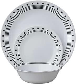 product image for Corelle Livingware 12 Piece Set City Block Pattern