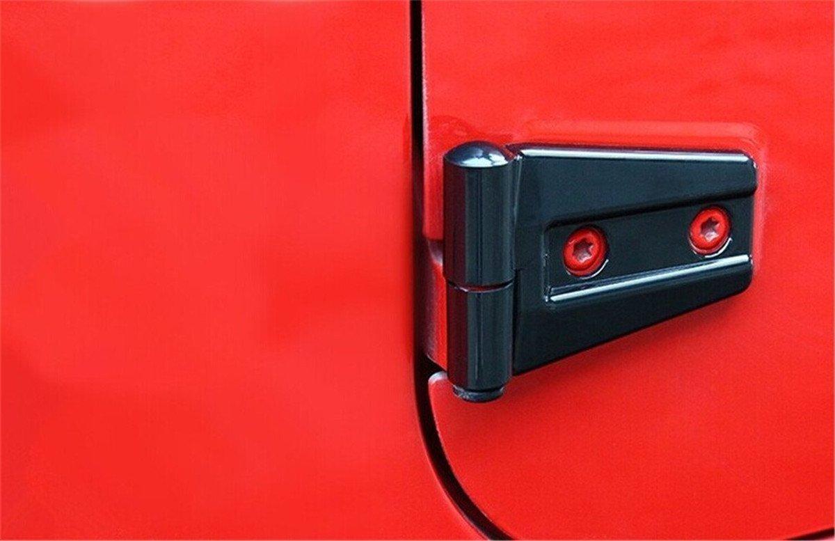 Silver Bentolin 3Pcs Interior handbrake Decoration Trim Handbrake Cover Trim for 2011-2017 Jeep Wrangler
