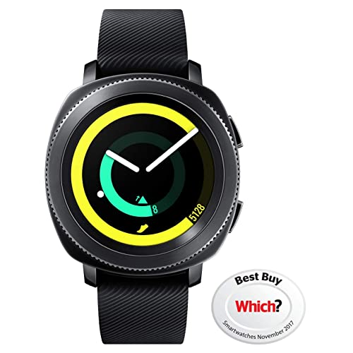 Samsung Gear Sport Smartwatch - UK Version - Black